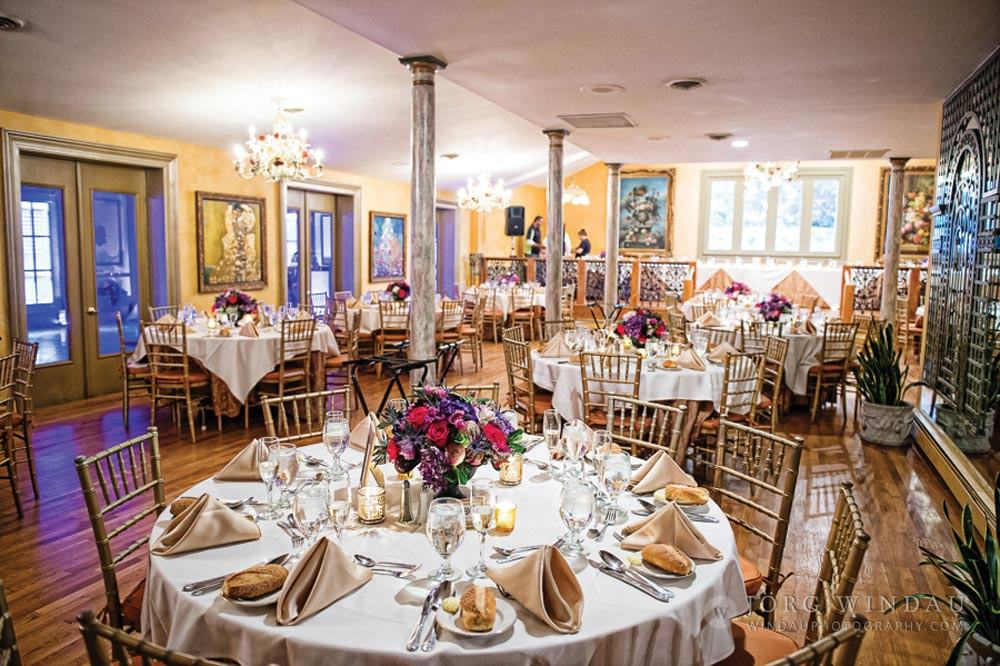 Dining Room Wedding Reception Windau Photography