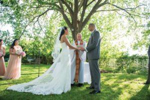 Garden Ceremony (Windau Photography)