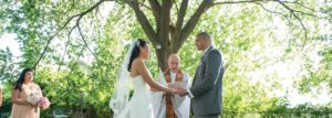 Wedding Ceremony at FEAST at Round Hill (Windau Photography)