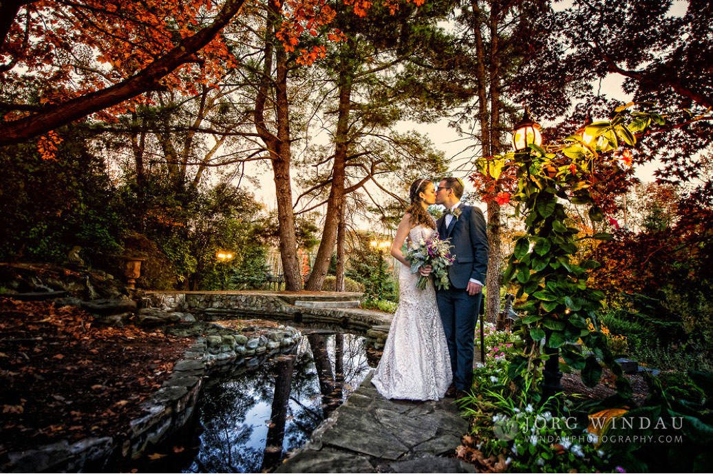 Fall gardens by the pond (Windau Photography)