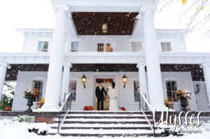 Jill and Brandon's Winter Wedding (Ulysses Photography)