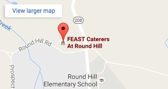 Map of FEAST at Round Hill, Washingtonville, NY