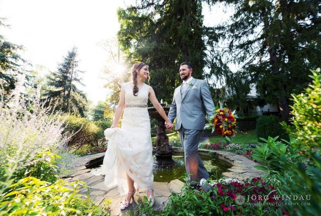 Laura and Jim Hudson Valley, NY Summer Wedding (Windau Photography)