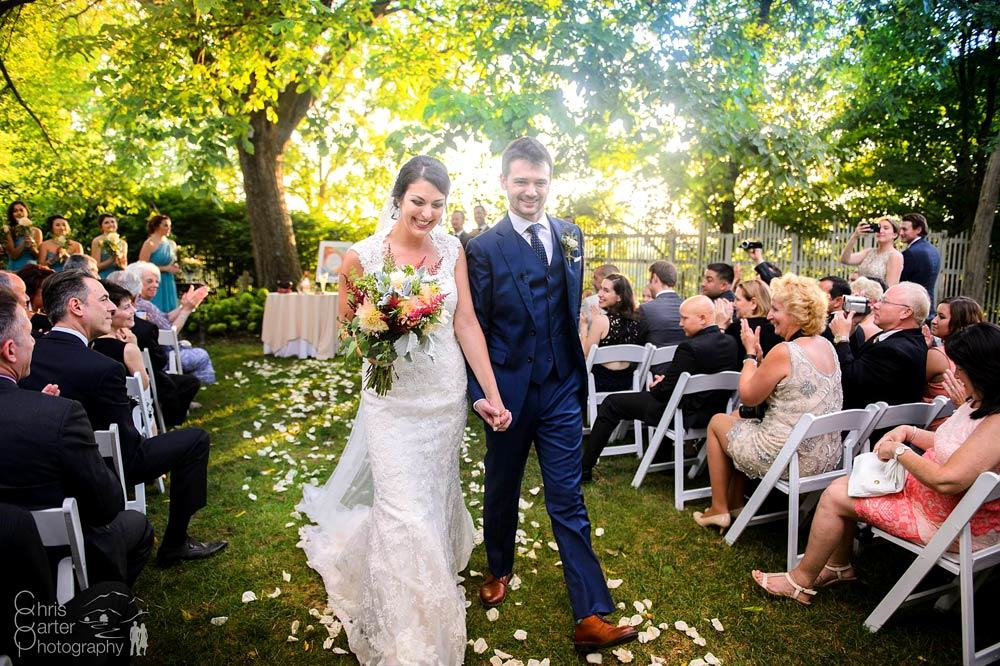 Marissa and Jaron's Summer Wedding Ceremony Chris Carter Photography