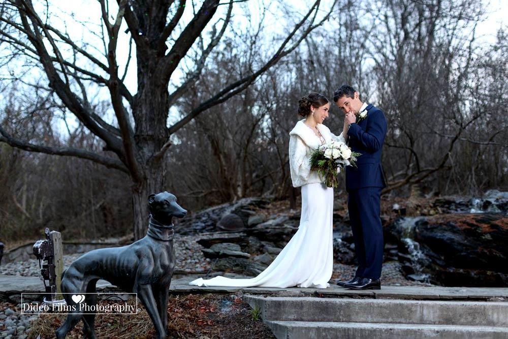 Becky and Eran's Winter Wedding Dideo Films Photo