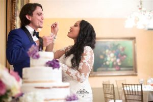Lydia and Boris Wedding Cake J Ferrara Photography