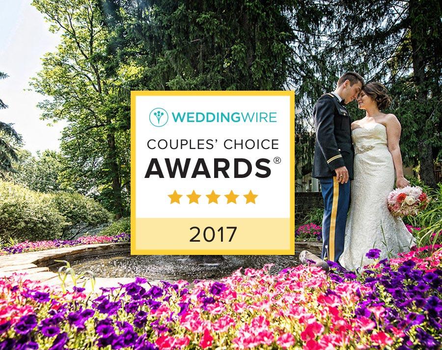 Wedding Wire 2017 Couples' Choice Awards Winner