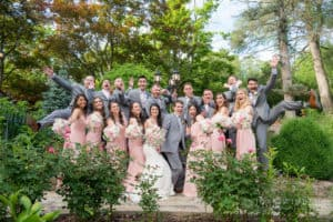 Julie and George's Summer Wedding in the Hudson Valley, New York
