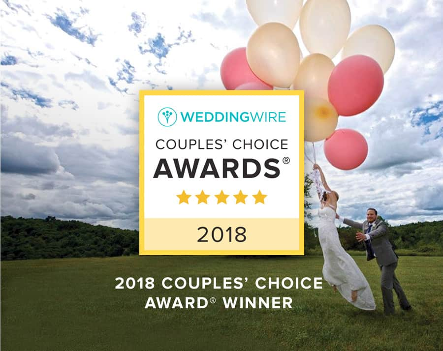 WeddingWire 2018 Couples Choice Awards Winner