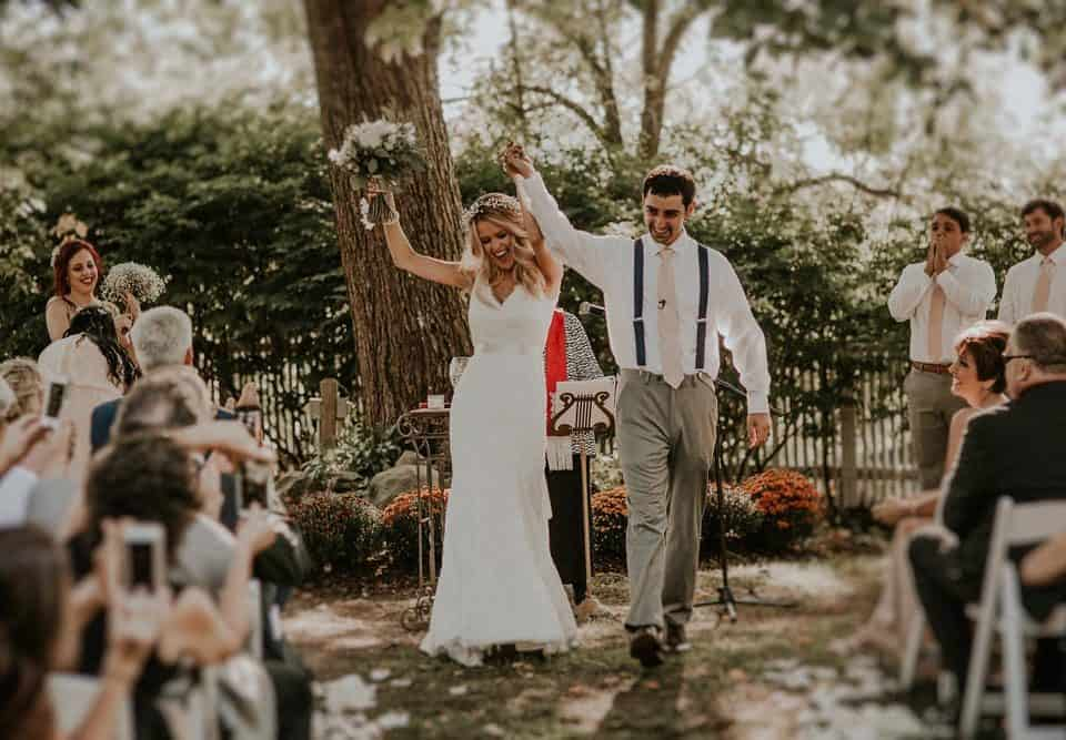Kara and Nick's Rustic Boho Wedding
