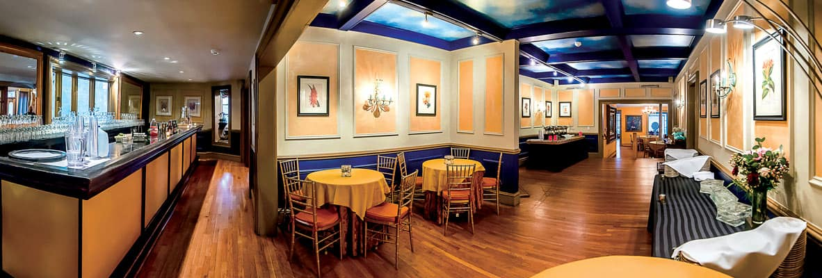 FEAST at Round Hill Private Estate Wedding Venue – Buffet Area