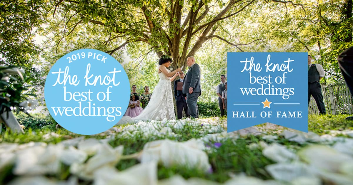 Feast At Round Hill Named Winner In The Knot Best Of Weddings 2019