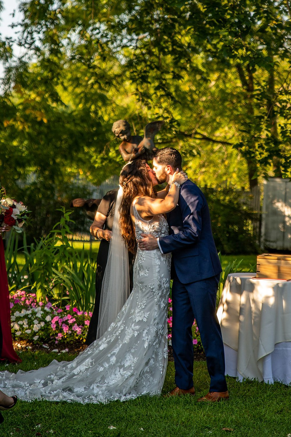 Sara and Justin's Fall Wedding at FEAST at Round Hill