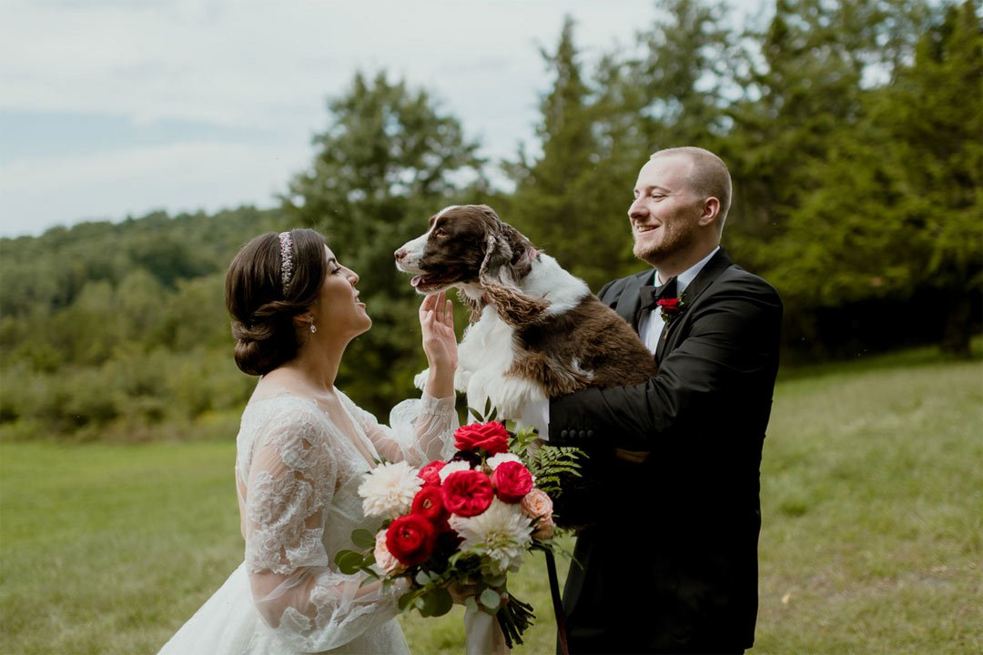 Elizabeth and David's Fall Wedding at FEAST at Round Hill