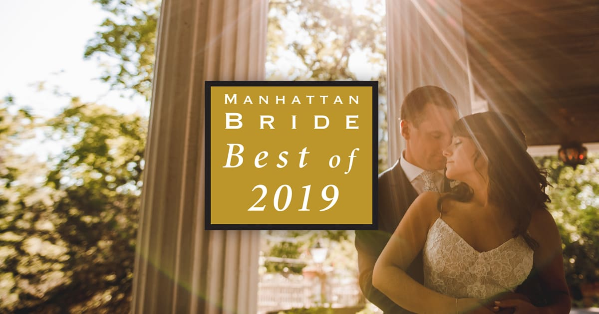 Manhattan Bride Best Vendors of 2019