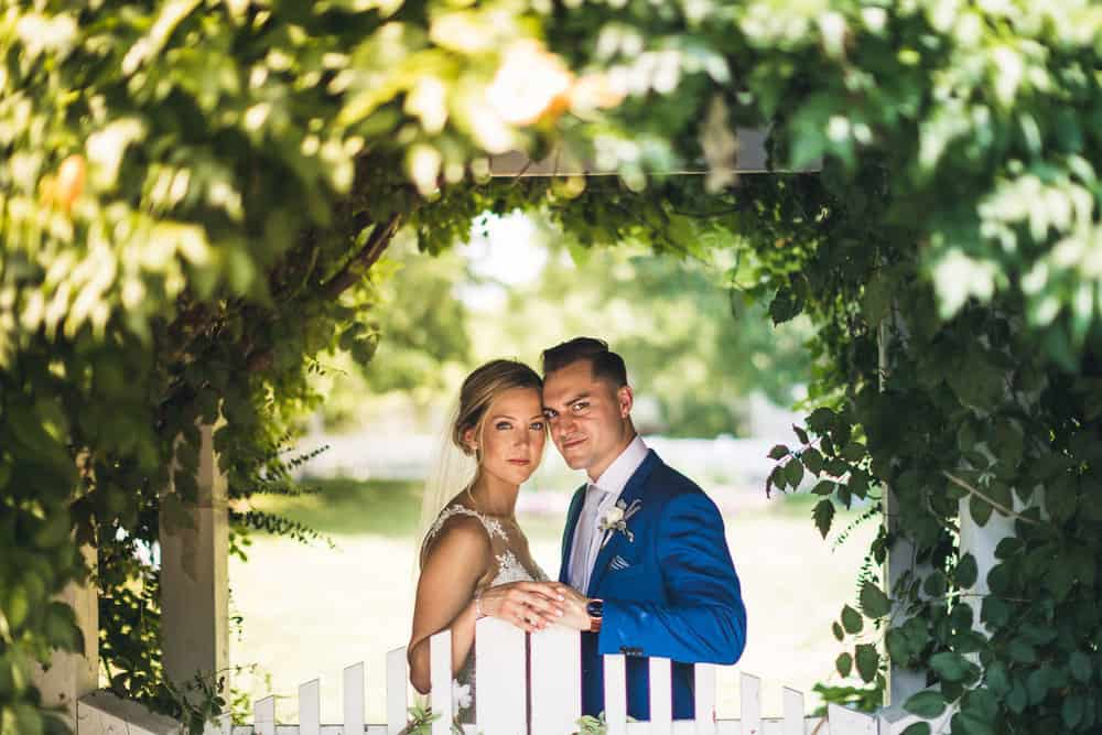 Megan and Marco's Summer Wedding at FEAST at Round Hill