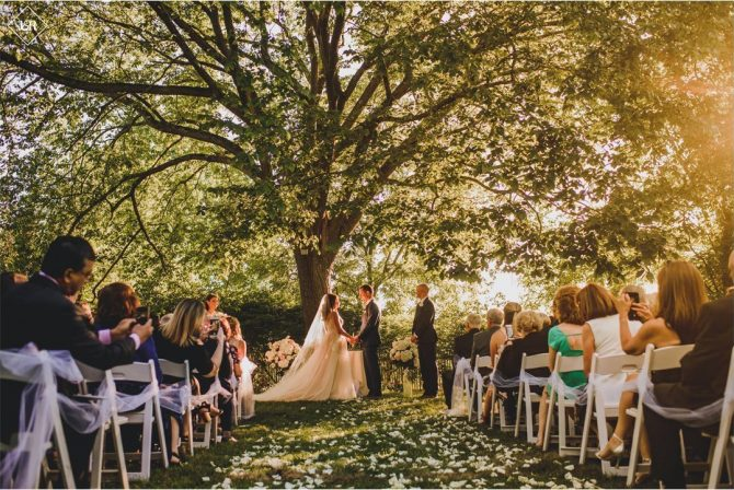 Intimate Hudson Valley Wedding Ceremony and Reception
