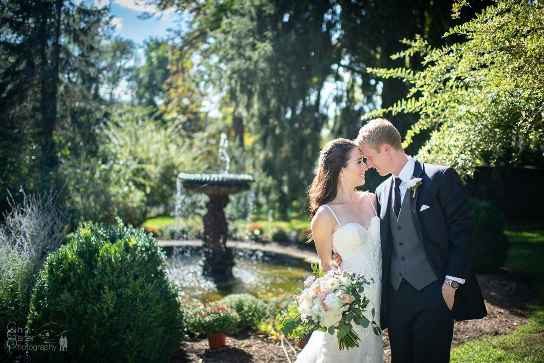 Heather and Matt's Fall New York Wedding
