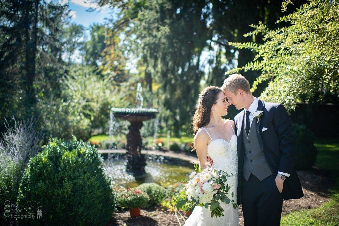 Heather and Matt's Fall New York Wedding