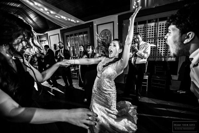 Julie and Jay's Romantic Winter Wedding - Dancing