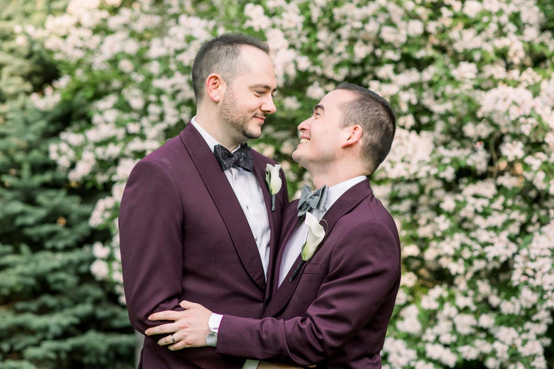 Brian and Brett's Spring Wedding in the Hudson Valley