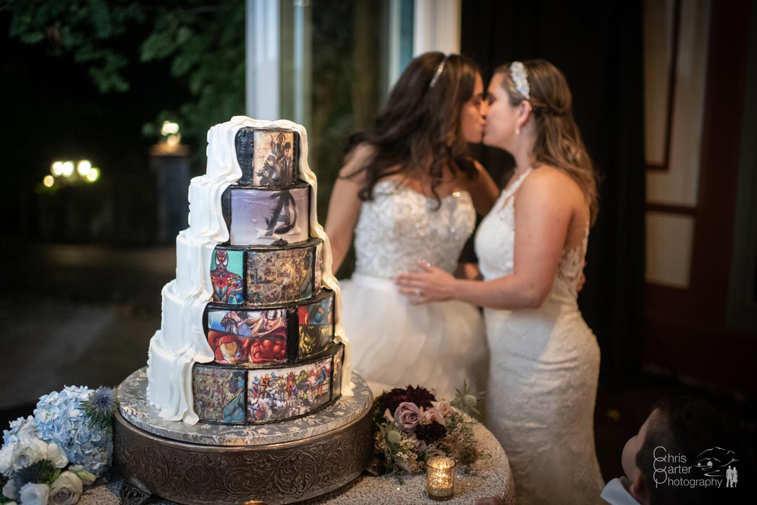 Wedding Cake from the Pastry Garden