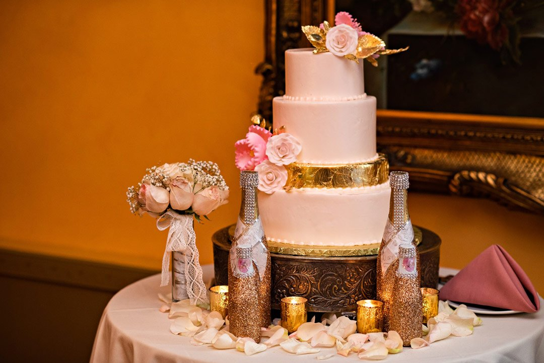 Andrene and Derrick's Summer Wedding Cake (Weddings by Ray)