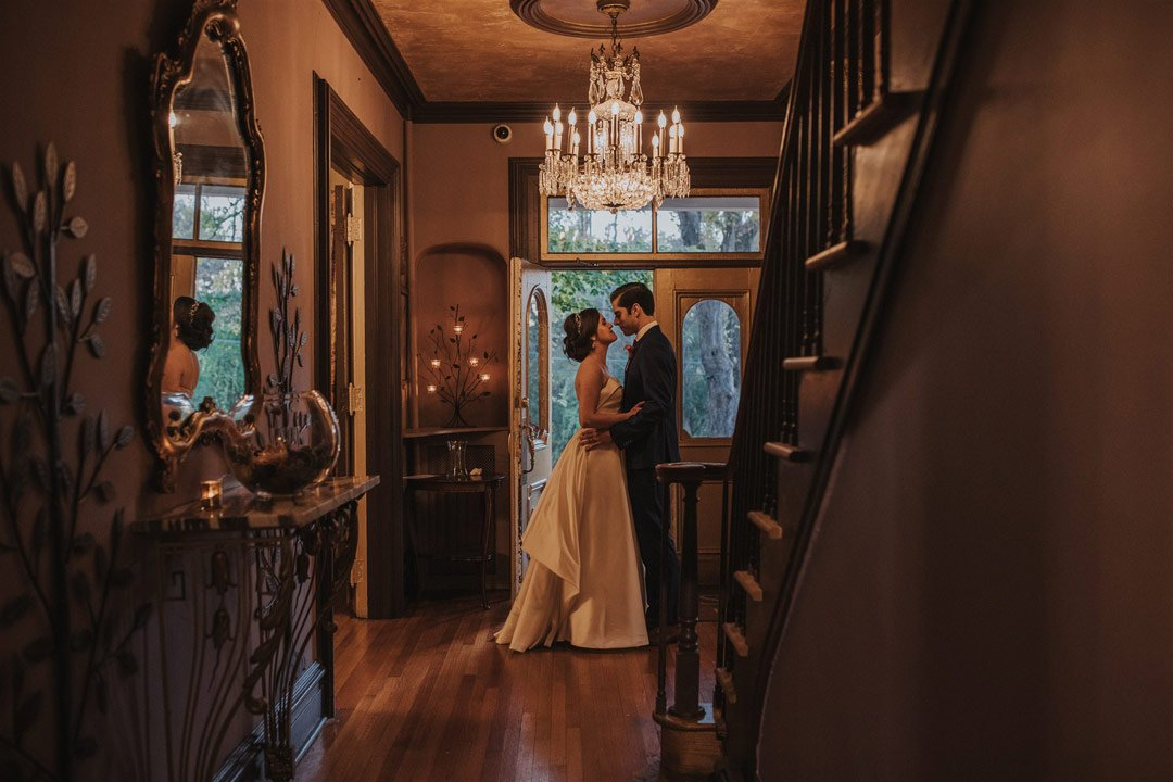 Ariel and Will's October Wedding (Here North Photography)