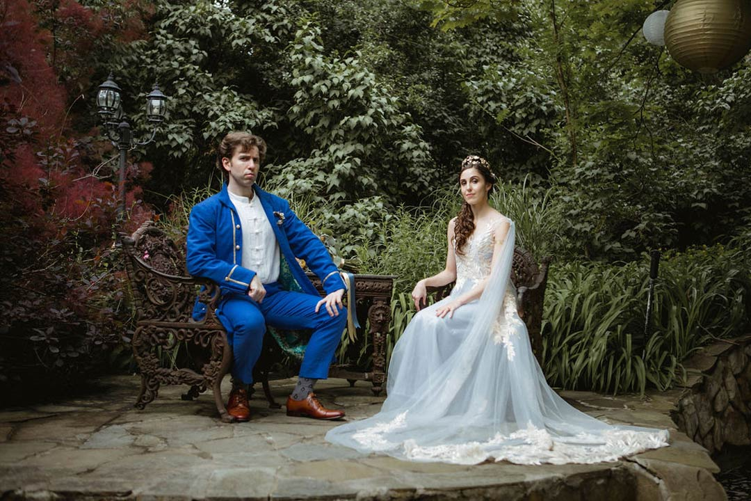 Car;a and Max's Royal Wedding (Amy Sims Photography)