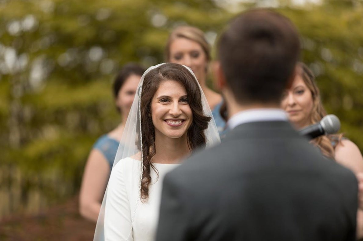 Dana and Nick's May Wedding Ceremony (Little But Fierce Photography)