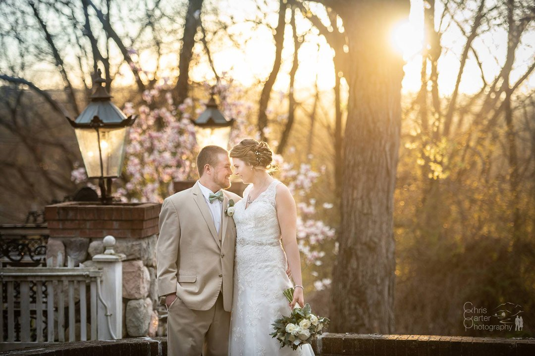 Mikayla and Curtis's April Wedding (Chris Carter Photography)
