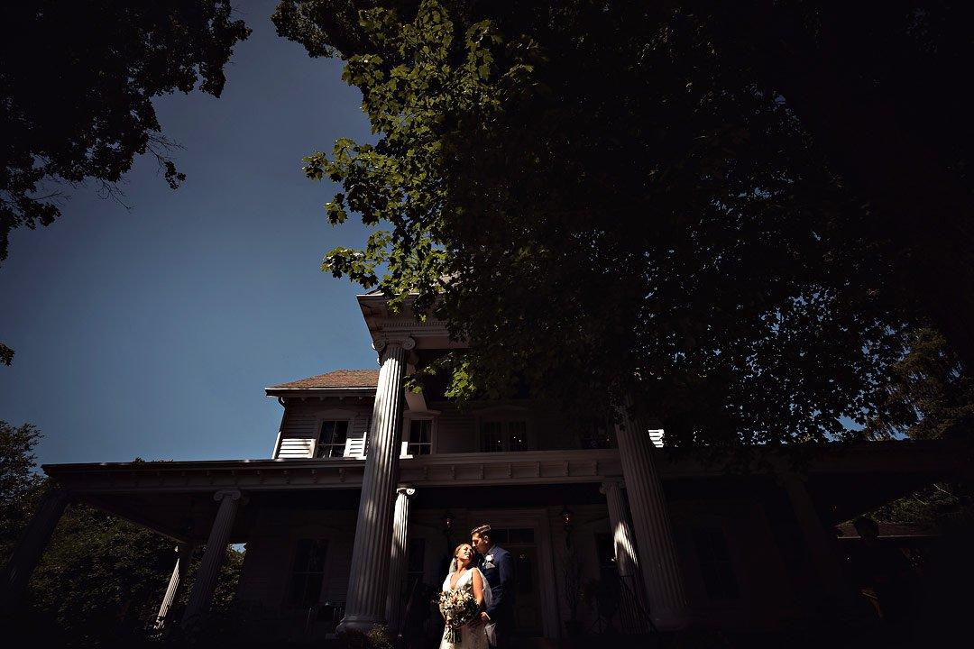 Dramatic Summer Wedding (Ein Photo)