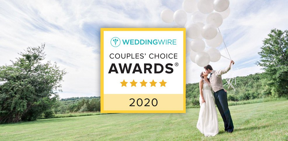 Wedding Wire Couples' Choice Award 2020