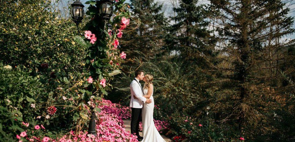 Kelley and Tom's September Garden Wedding