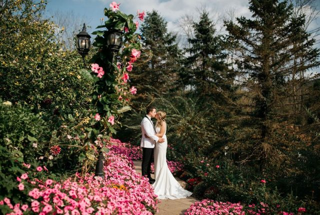 Kelley and Tom's September Garden Wedding (Alicia Martire Photography)