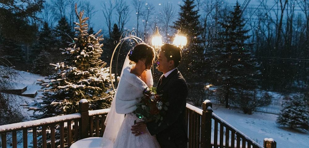 Catherine and Alan's New York Winter Wedding