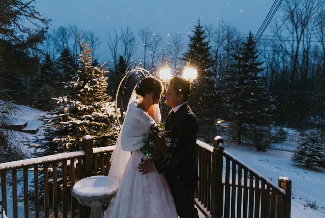 Catherine and Alan's New York Winter Wedding
