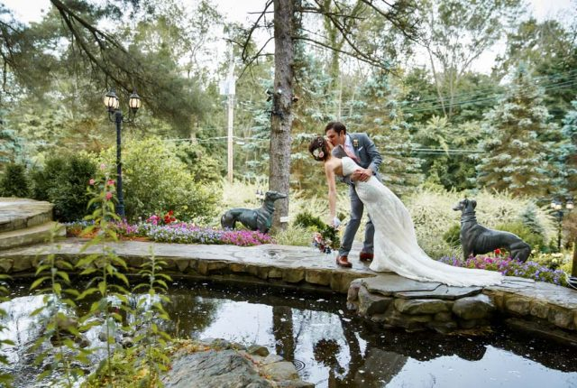 Summer Wedding Ceremony: Emily and David's July Wedding