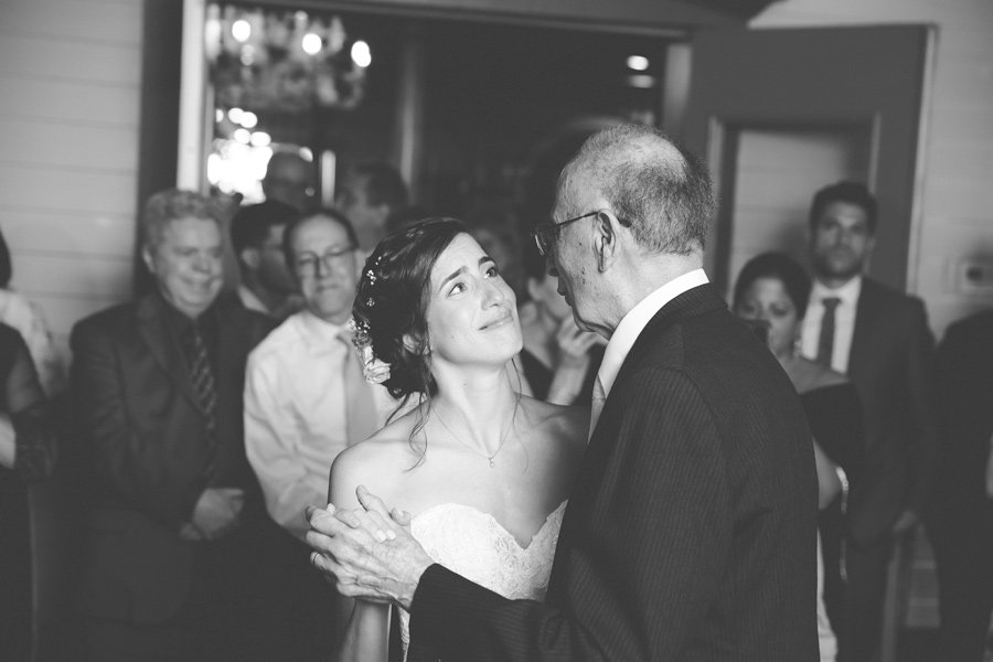 Father Daughter Dance Summer Wedding Ceremony
