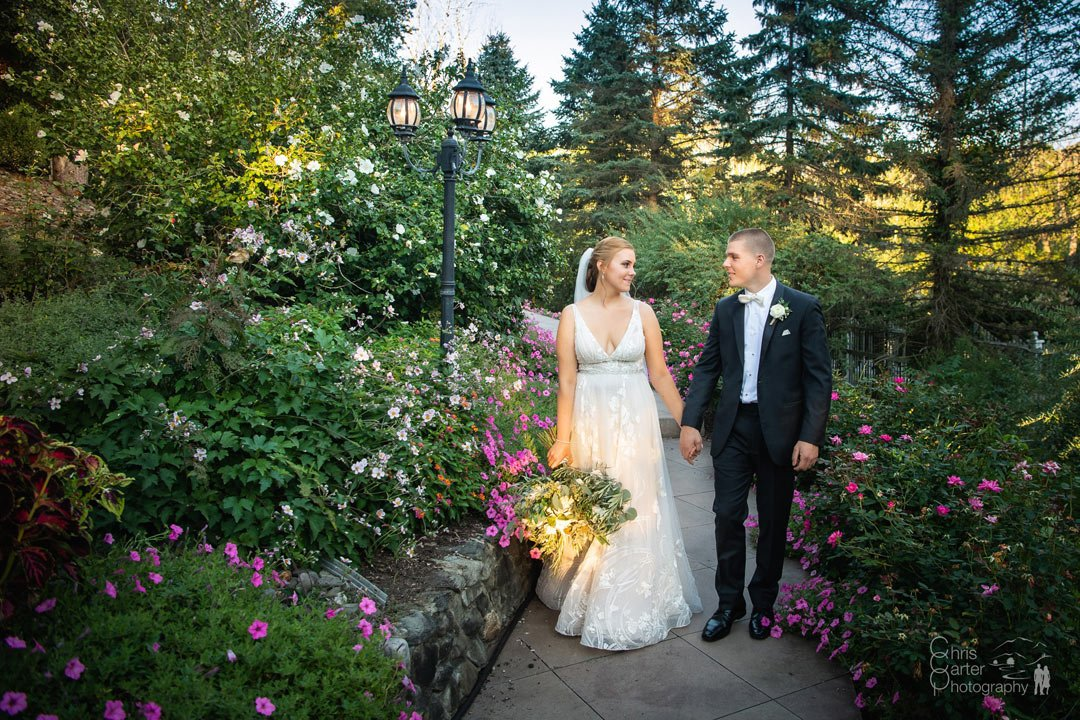 Caroline and Steve's Fall Wedding by Chris Carter Photography