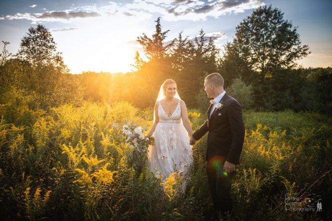 Caroline and Steve's Fall Wedding by Chris Carter Photography