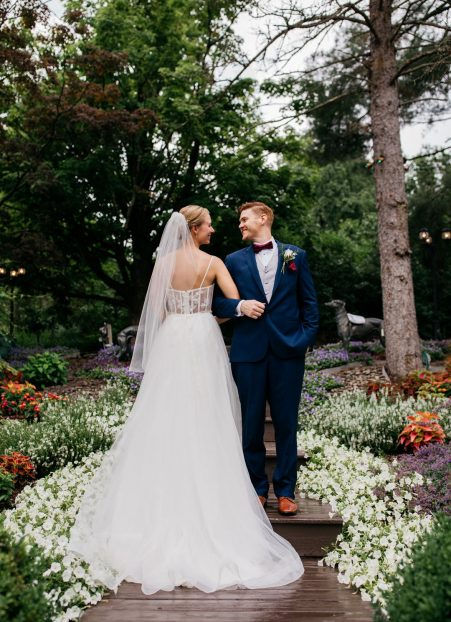 Kim and Brett's June Summer Wedding by Alicia Martire Photography