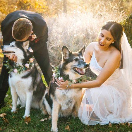 Stephanie and Andrew Micro Wedding by Custom by Nicole
