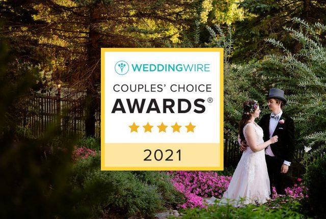 WeddingWire Couples' Choice Awards 2021 Winner