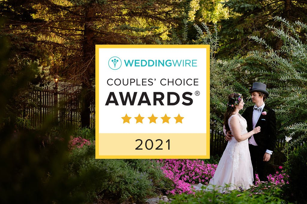 WeddingWire Couples' Choice Awards 2021 Winner
