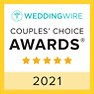 Wedding Wire Couples' Choice Award 2021