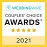 Wedding Wire Couples' Choice Award 2021