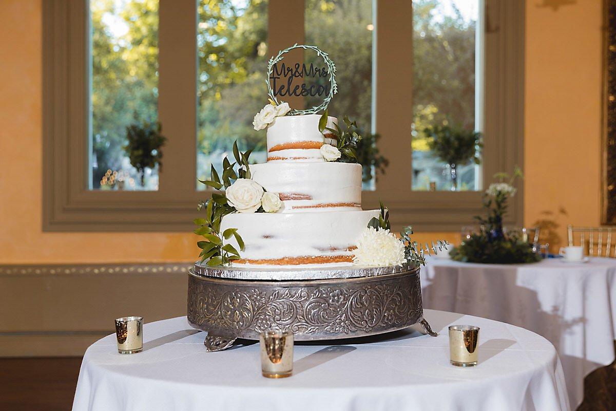 Teresa and Joe's Spring Wedding Cake
