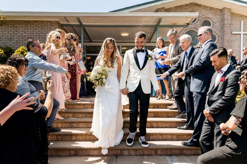 Wedding Ceremony at Saint Mary's in Washingtonville, NY